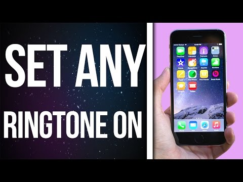 How to set ANY  Song as Ringtone On Iphone