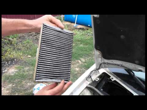 Как заменить салонный фильтр на Ладе-Калине