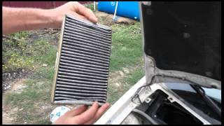 видео Как заменить воздушный фильтр на Лада Калина своими руками