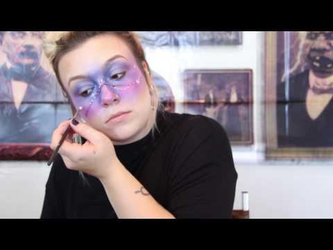 Tutorial Sunday: Halloween Galaxy Makeup