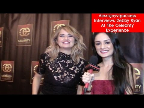 Debby Ryan Interview With Alexisjoyvipaccess At The Celebrity Experience