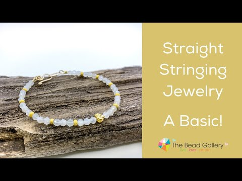 Basic Stringing with Crimping at The Bead Gallery, Honolulu