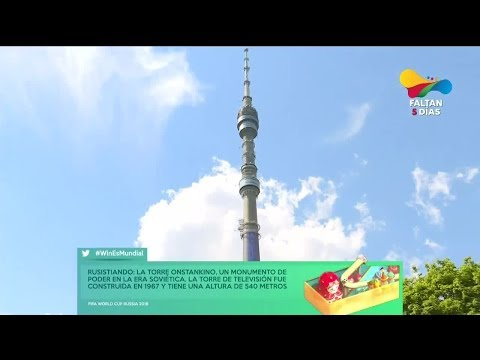 Conociendo Rusia | La Torre Ostankino, un monumento de poder en la era soviética