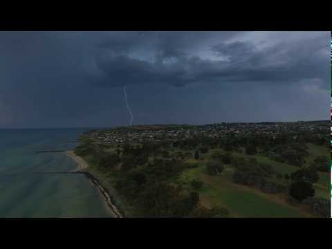Clifton Springs Storm Cells 26-11-2017