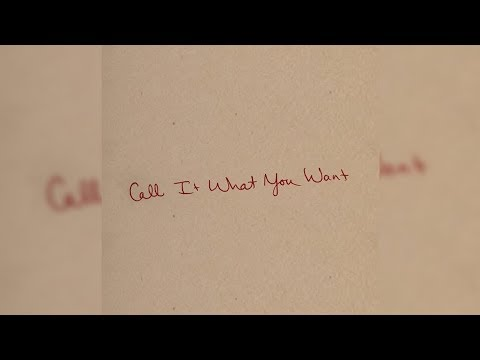 Taylor Swift - Call It What You Want (Official Instrumental)