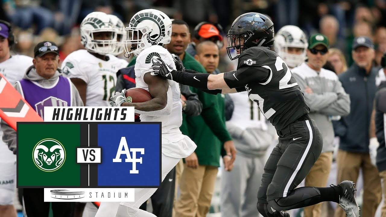 Colorado State vs. Air Force Football Highlights (2018 ...