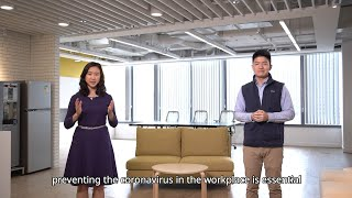 Together, We Fight the Virus : Prevention of Coronavirus Disease in the Workplace (6.3.2020)