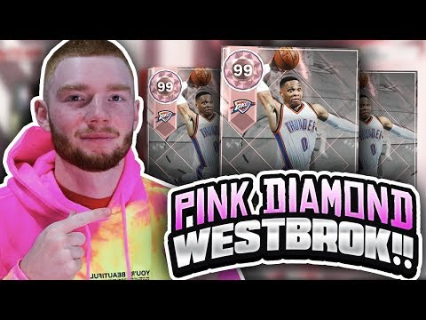 *LIVE* HUGE PINK DIAMOND RUSSELL WESTBROOK PACK OPENING! MOST STATS IN THE GAME!! (NBA 2K18 MYTEAM)