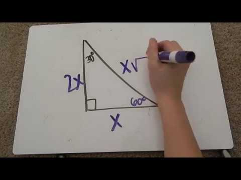 Special Right Triangles 30-60-90 Tutorial