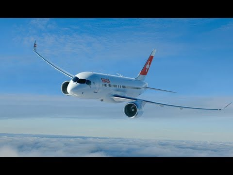 Flight review: Inaugural Swiss Bombardier CS100 into London City Airport (Full) | Business Traveller