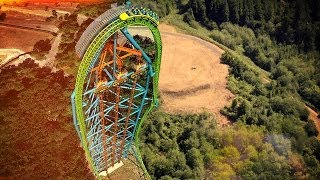 5 New RECORD BREAKING ROLLER COASTERS