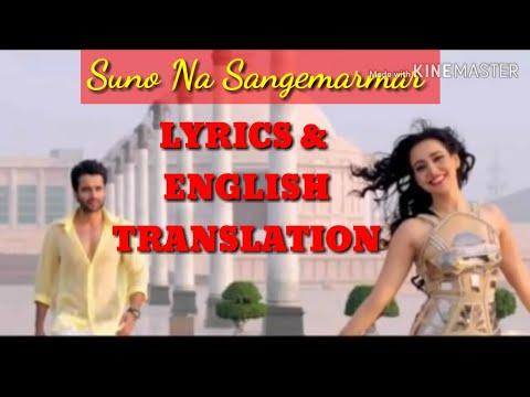 suno-na-sangemarmar-lyrics-translation-full-song-hd-youngistan,-arijit-singh