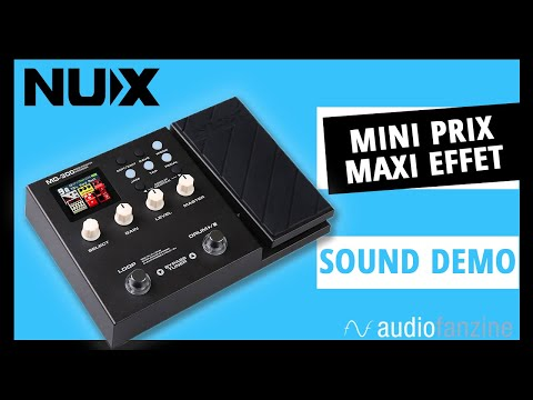 Nux MG 300 : On fait le test (Sound Only)