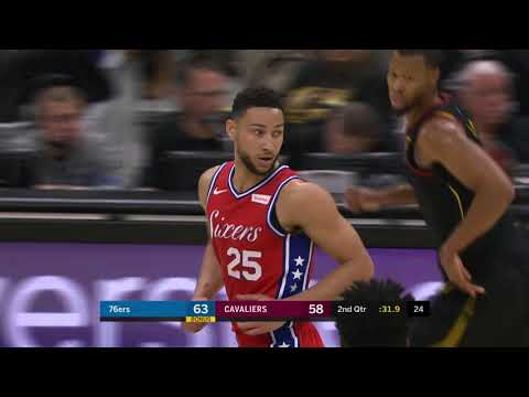 Philadelphia 76ers vs Cleveland Cavaliers : December 16, 2018