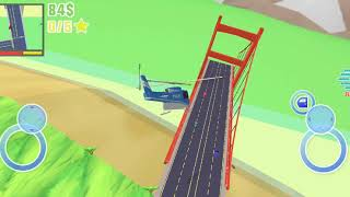 Dude Theft Wars #74 | Helicopter Crash | New Update AIRPORT | Android GamePlay FHD