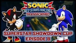 Sonic & All-Stars Racing Transformed - Superstar Showdown Tour: Ranger Rush (Episode 8 of 10)