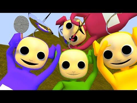 Пузожители из усадьбы Пузо (3D-пародия на Телепузиков)