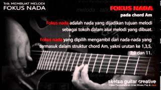 TRIK membuat LICK (melodi gitar) yang me-LAGU. (Improvisasi Gitar) lesson