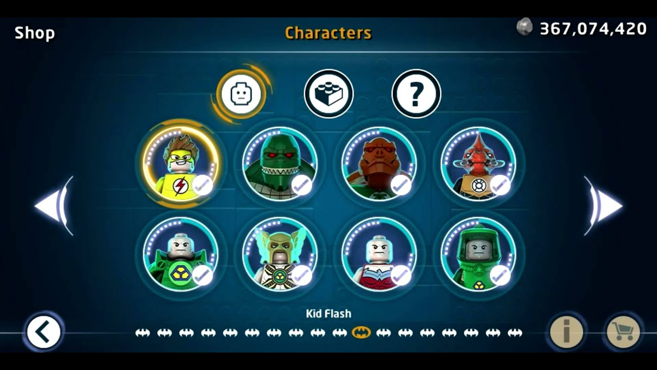 LEGO Batman 3 Beyond Gotham PS Vita All Characters ...