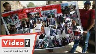 أبناء مبارك يصلون إلى مقبرة حفيده لإحياء الذكرى الثامنة لوفاته
