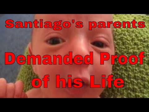 Santiago's parents demanded proof of his life 24 06 16 video