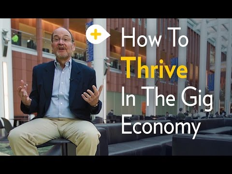How to Thrive in the Gig Economy - Michigan Ross