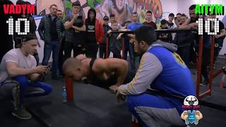 Vadym Oleynik VS Aitym Zhakupov  EPIC Street Workout BATTLE  2018
