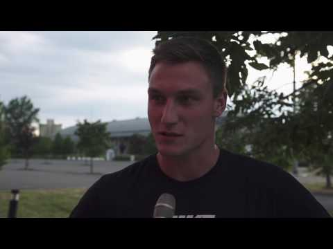 Thomas Röhler - Interview before Ostrava Golden Spike 2017