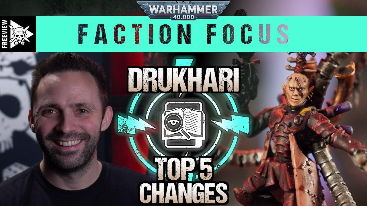 Download Codex Drukhari Top 5 Changes | Warhammer 40,000 Faction Focus