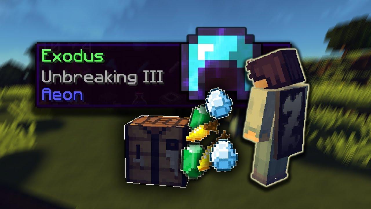 rushing EXODUS in hypixel uhc