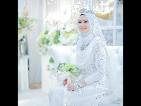 A Collection Of Islamic Wedding Gowns With Hijab Youtube