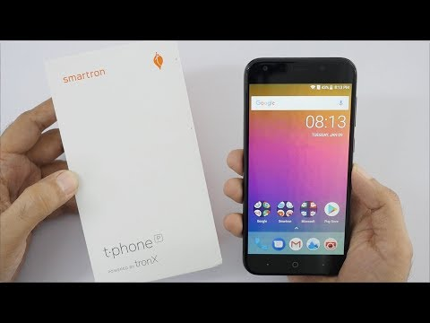 Smartron t-phone P Unboxing & Overview Budget Smartphone with 5000 mAh Battery
