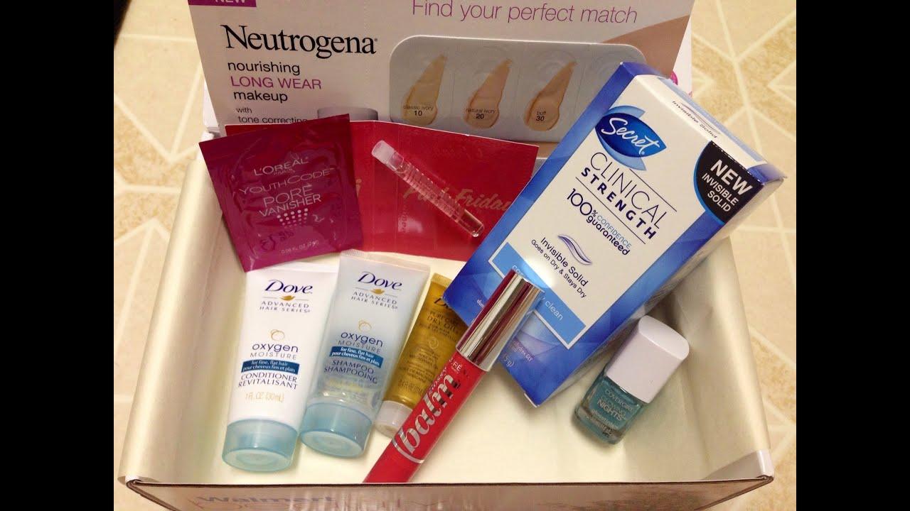 Walmart beauty box monthly subscription makeup box Fall 2014 ...