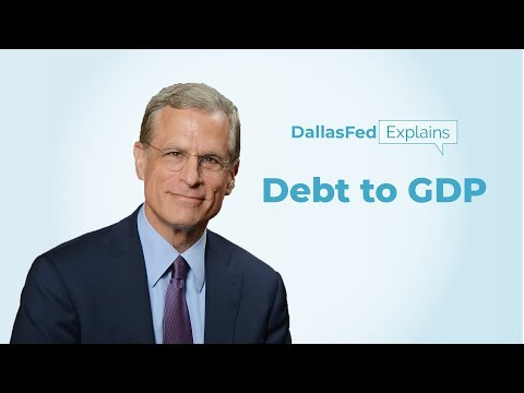 Dallas Fed Explains: Government Debt To GDP
