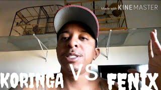 Koringa vs Fenix  rachinha pancada entre eles / MANO TON