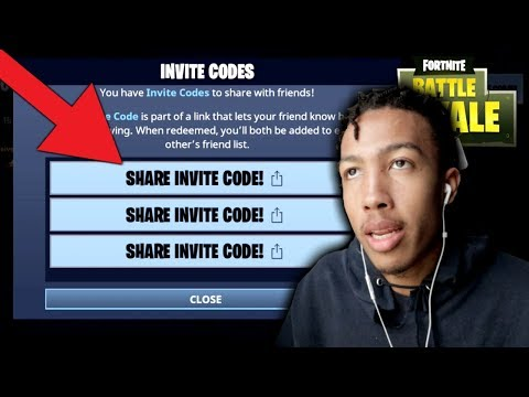 3 INVITE CODES FOR FORTNITE MOBILE! (How To Download Fortnite Mobile)