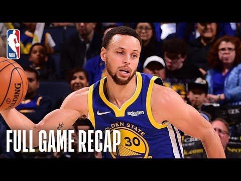 CAVALIERS Vs WARRIORS | Stephen Curry Drops 40 Against Cleveland | April 5, 2019