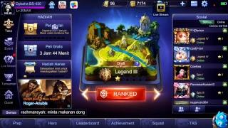 Mobile Legend - Mabar sama top global jessnohair 14Feb2018
