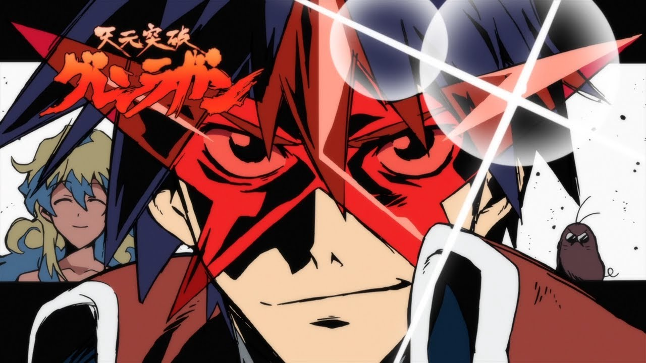 Gurren Lagann Eyecatch Collection - YouTube