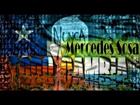 Todo cambia - Mercedes Sosa con letra - YouTube