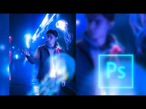 Аватарка с медузой. Процесс создания в Photoshop