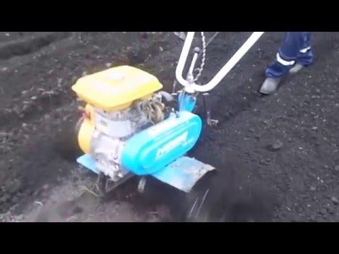 Предпосадочная обработка почвы. Обработка почвы мотокультиватором МК   100 на приусадебном участке