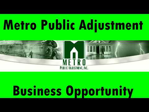 The Metro business presentation - Mike Martinez - Public Adjuster business