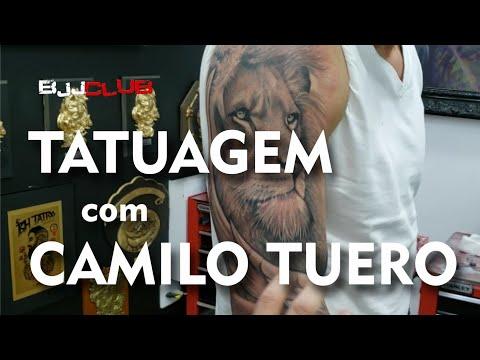 FABIO DURELLO Tatuou com CAMILO TUERO