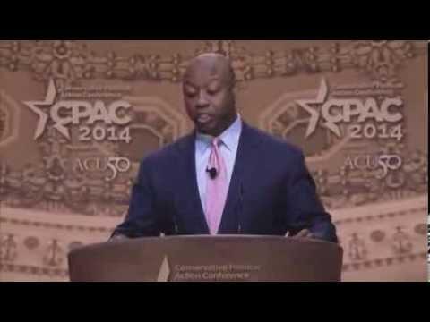 CPAC 2014 - U.S. Senator Tim Scott (R-SC)