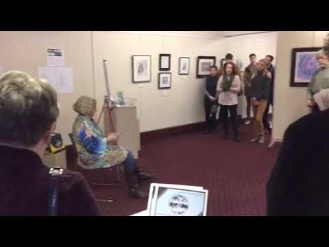 """Artist Talk """"Going For Adventure"""" Tyler Gallery Oswego"""