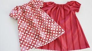 Как быстро сшить детское платье