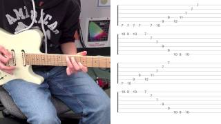 BIG SUR MOON: Buckethead STUDIO Version: Guitar Lesson (with tabs)