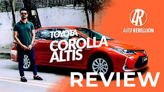 NEW TOYOTA COROLLA ALTIS | REVIEW | Auto Rebellion | Bangladesh