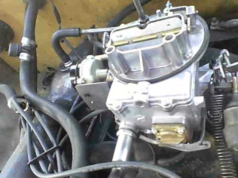 1983 Chevy Starter Wiring Ford 360 2bbl Carb 1974 4 Speed 2 Wheel Drive Youtube